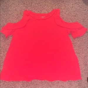 This is a pink-ish, red-ish shirt from loft